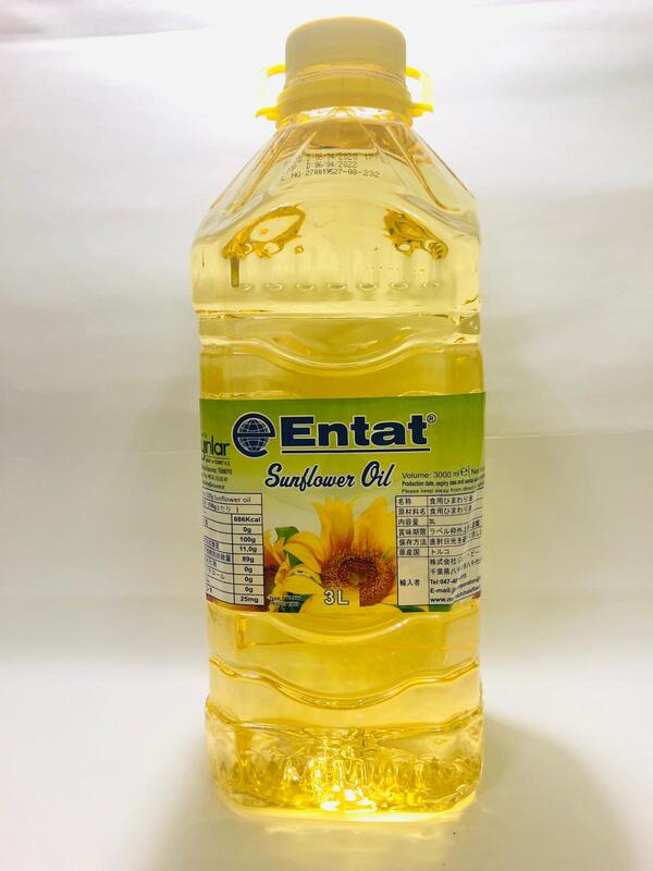 ENTAT SUNFLOWER OIL 3LTR