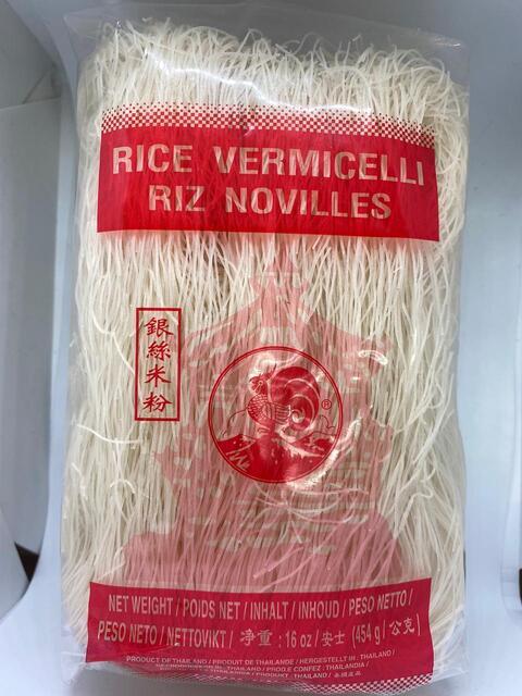 RICE VERMICELLI RIZ NOODLES 454G