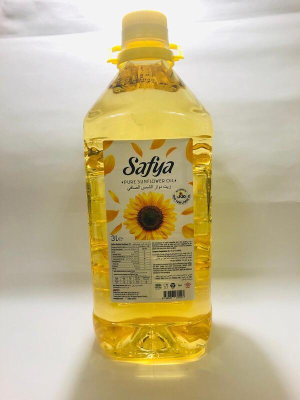 SAFYA SUNFLOWER OIL 3L